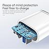 Быстрая зарядка KUULAA Quick Charge 3,0, 36 Вт USB/PD, фото 6
