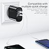 Быстрая зарядка KUULAA Quick Charge 3,0, 36 Вт USB/PD, фото 2