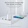 Быстрая зарядка KUULAA Quick Charge 3,0, 36 Вт USB/PD, фото 8