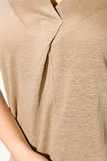 Блуза женская 516F480-1 цвет Бежевый, фото 2