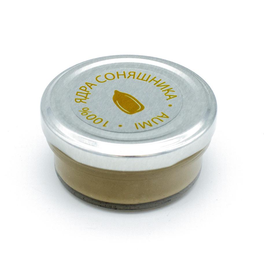 Паста из семян подсолнечника кремовая, 50г, банка СТЕКЛО, натуральная без добавок