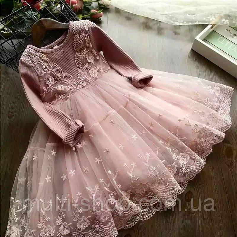 """Платье для девочки """"Принцесса"""" 80"""