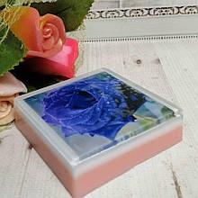 """Глицериновое мыло """"Голубая роза"""""""