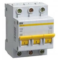 Автоматический выключатель IEK ВА 47-29 3Р С32А