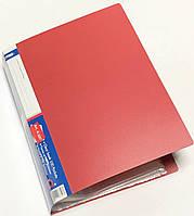 Папка пластиковая А4 + 20 файлов А-302 (цвет-синий,черный,бордовый,зеленый)