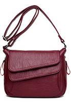 Износостойкая Женская сумка на плечо KAVARD Бордовая!