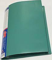 Папка пластиковая А4 + 40 файлов А-304 (цвет-синий,черный,бордовый,зеленый)