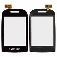 Touchscreen (сенсорный экран) для Samsung B3410, оригинальный (черный)