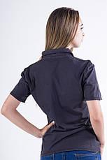 Поло женское 516F439-1 цвет Черный, фото 2