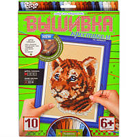 Набор для вышивания крестиком Тигр VK 01-01