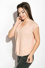 Блуза женская 516F480 цвет Персиковый, фото 2