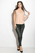 Блуза женская 516F480 цвет Персиковый, фото 3