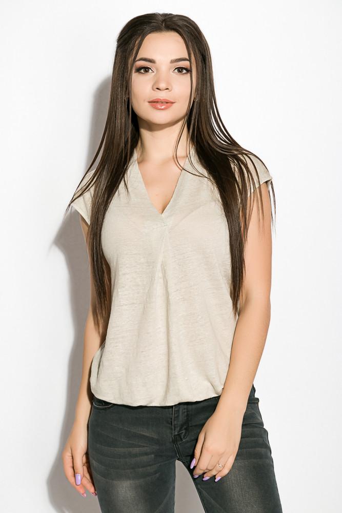 Блуза женская 516F480 цвет Оливковый