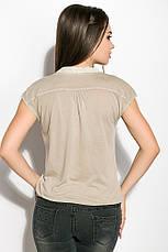 Блуза женская 516F480 цвет Оливковый, фото 3