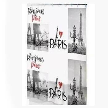 Шторка-занавеска для ванны/душа 180х180 PEVA (Париж)