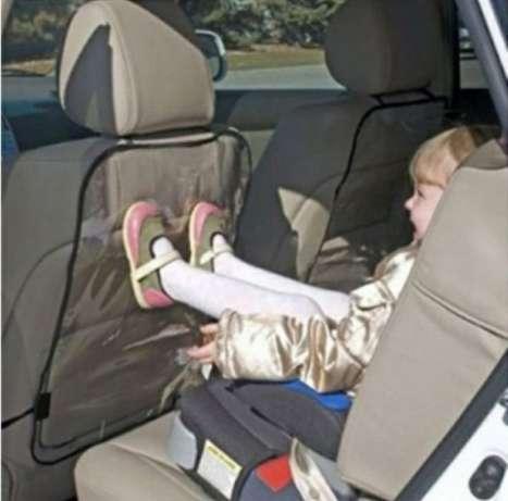 Защита для автокресла от детских ног, защита от грязи, защита на автокресло силикон