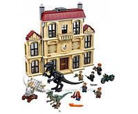 Конструктор Bela  Нападение Индораптора в поместье Локвуд (Аналог Lego Jurassic World 75930) 1046 дет.