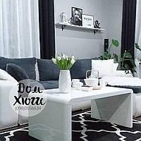 Журнальный столик Signal Mio 60x100 белый глянец