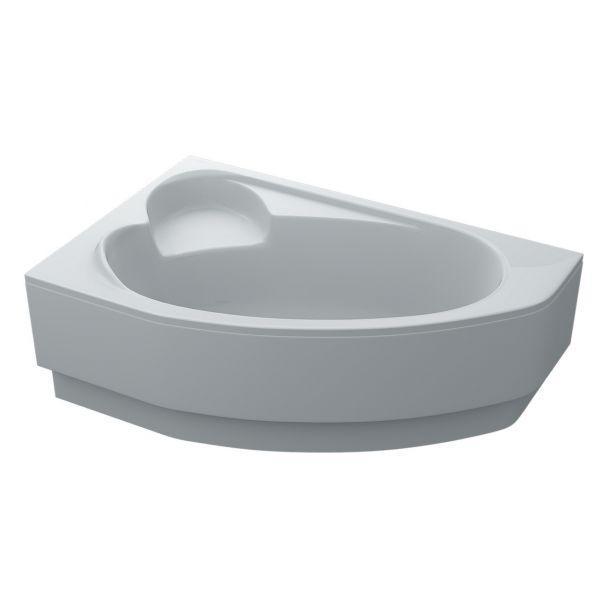 Ванна акрилова Swan Leoni 170x110 асиметрична ліва