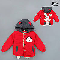 """Демисезонная куртка """"Обезьянка"""" для мальчика. 95 см, фото 1"""