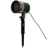 Новогодний лазерный проектор для улицы и на фасад дома LZ-4