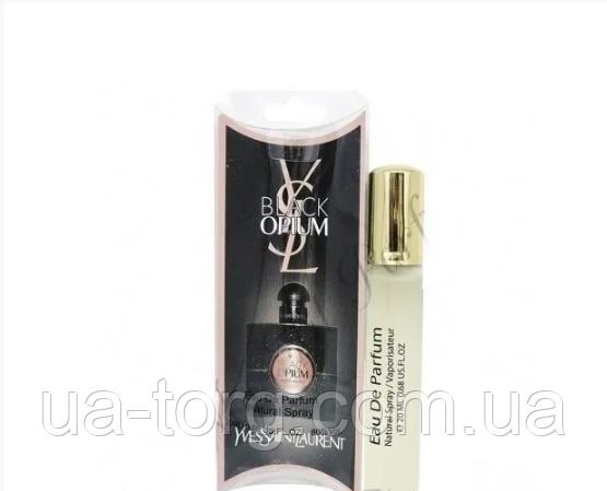 Женский мини парфюм Yves Saint Laurent Black Opium, 20 мл