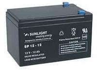 Аккумулятор SUNLIGHT SP12-12, 12В 12 А*ч, фото 1