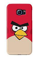 Чехол для Samsung Galaxy S6 (Angry birds)