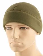 Зимняя тактическая шапка из плотного флиса цвет олива 40020102, фото 1