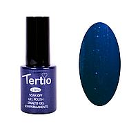 Гель-лак Tertio № 30 синий с блестками