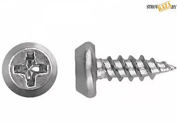 Саморез по металу с цилиндрической головой тэкс MMG  3.9 х 11 (Цинк) 100 шт