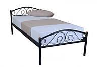 Кровать Респект (черная) 900*2000 см