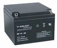 Аккумулятор SUNLIGHT SP12-26, 12В 26 А*ч, фото 1