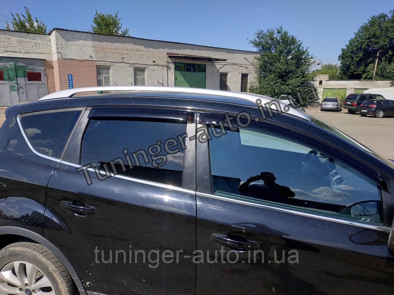 Ветровики, дефлекторы окон Ford Kuga 2008-2013 (EGR/Australia)