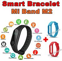 Фитнес браслет трекер Mi Band M2 с тонометром, женские мужские умные смарт часы. Розумний смарт-годинник M2BR, фото 1