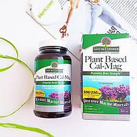 Nature's Answer, Кальцийи магний растительного происхождения, 500/250 мг, 120 вегетарианских капсул