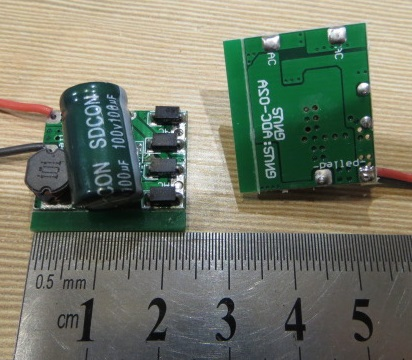 Понижающий преобразователь / Светодиодный Драйвер Вход: AC/DC 12-85v Выход 1000 mА DC