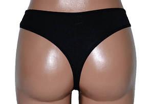 Трусики бикини сетка веточка Черный (LV1906) | 12 шт., фото 2