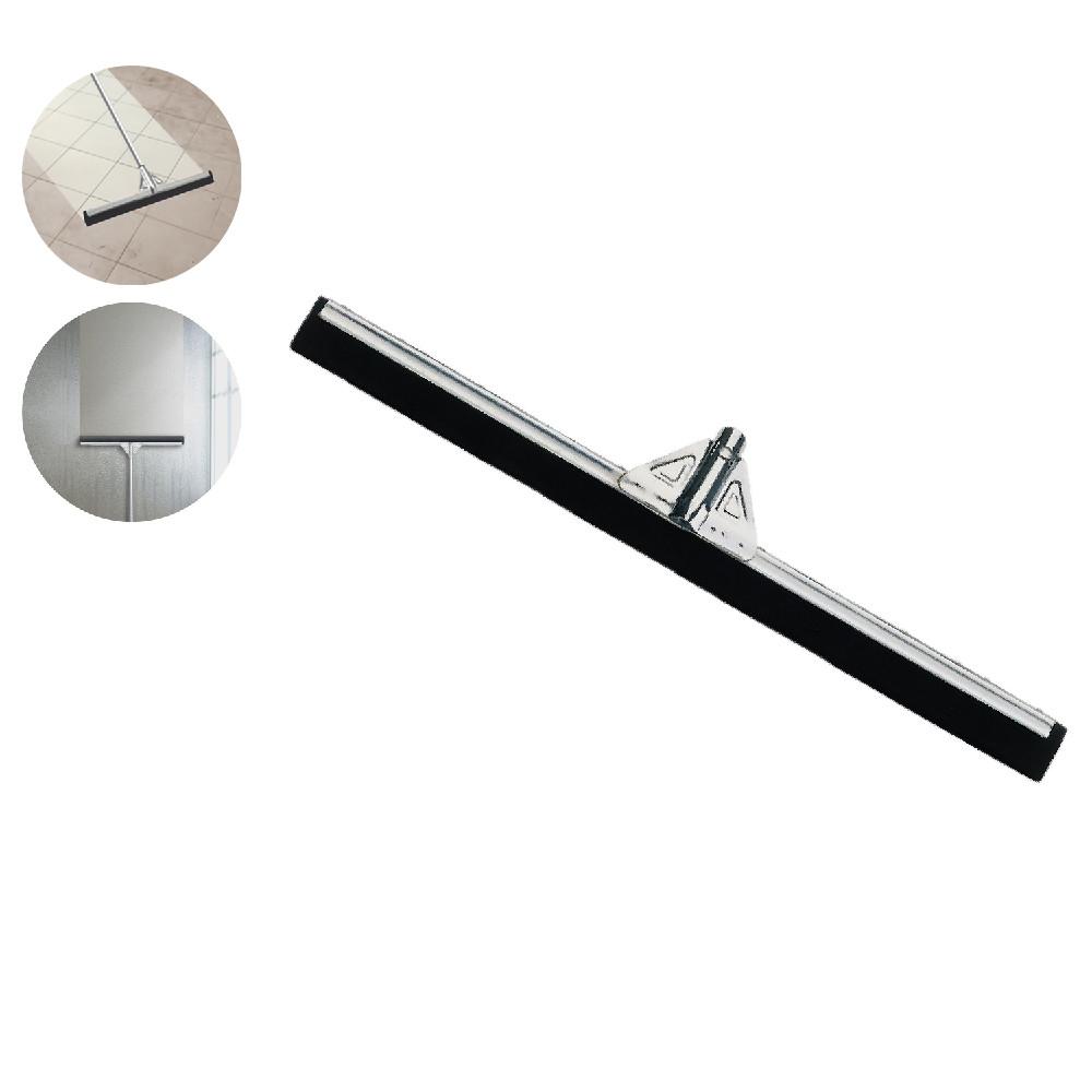 Скребок для сгона воды с пола 75 см металлический Профессиональный инвентарь для клининга