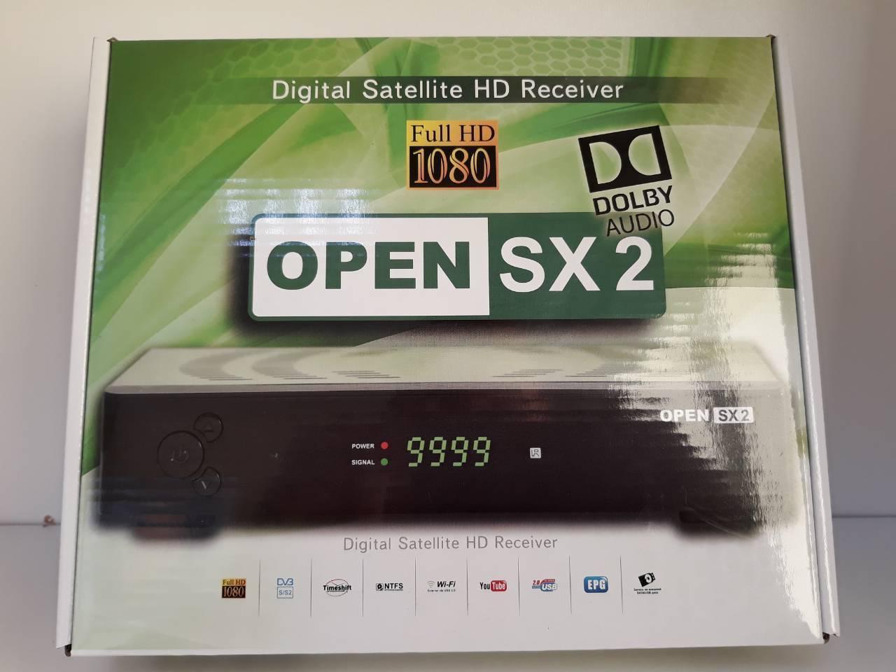 Openbox SX2 HD DOLBY AUDIO (спутниковый тюнер HD)
