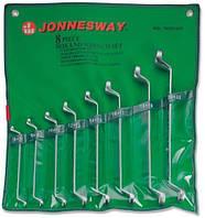 Набор ключей накидных 75-гр, 6-22 мм, 8 предметов W23108S (Jonnesway, Тайвань)