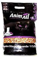 Animall Expert Choice Древесный наполнитель для кошачьего туалета c ароматом лаванды