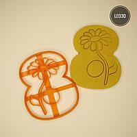 """3D формочки-вырубки для пряников """"Восьмерка"""""""