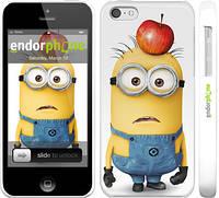 "Чехол на iPhone 5c Миньоны v10 ""2968c-23"""