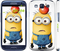"Чехол на Samsung Galaxy S3 Duos I9300i Миньоны v10 ""2968c-50"""