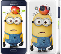 "Чехол на Samsung Galaxy A3 A300H Миньоны v10 ""2968c-72"""