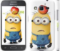 "Чехол на Samsung Galaxy Core Prime G360H Миньоны v10 ""2968c-76"""