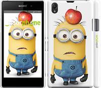 "Чехол на Sony Xperia Z1 C6902 Миньоны v10 ""2968c-38"""