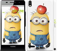 "Чехол на Huawei Ascend P6 Миньоны v10 ""2968c-39"""
