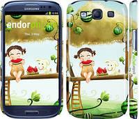 "Чехол на Samsung Galaxy S3 Duos I9300i Девочка с арбузом ""2957c-50"""